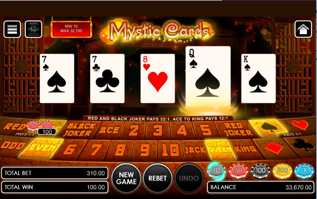 CARA MAIN MYSTIC CARDS SBOBET GAMES_1