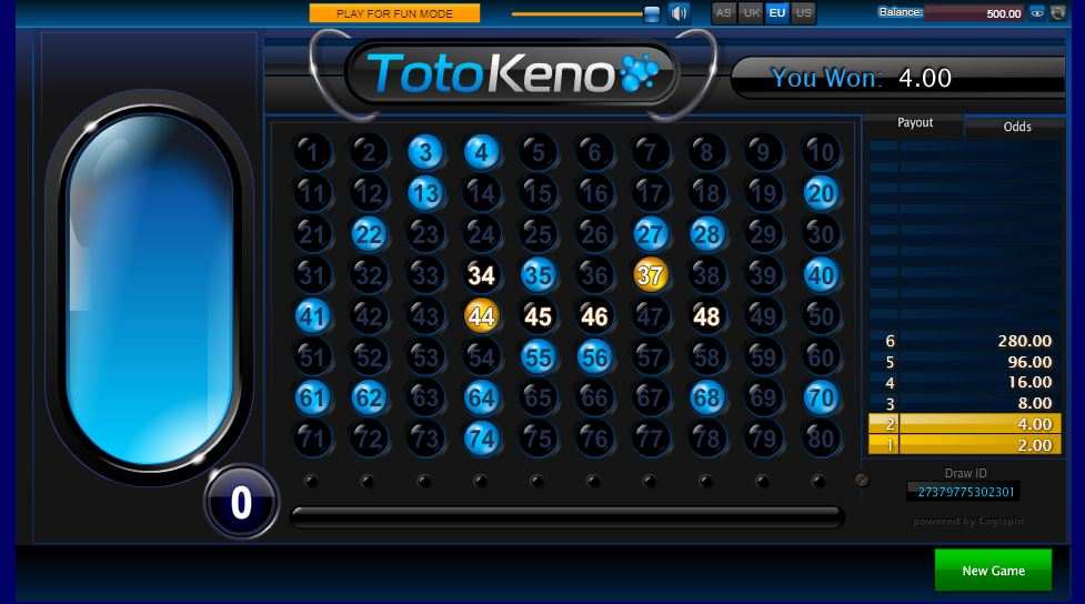 Cara Daftar Permainan Taruhan Toto Keno